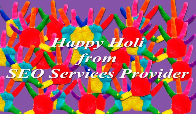 Happy Holi...